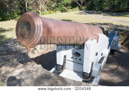 Old Cannon 1871