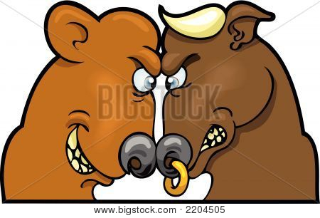 Bear And Bull Market.Eps