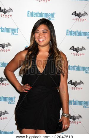 LOS ANGELES - JUL 23:  Jenna Ushkowitz arriving at the EW Comic-con Party 2011 at EW Comic-con Party 2011 on July 23, 2011 in Los Angeles, CA