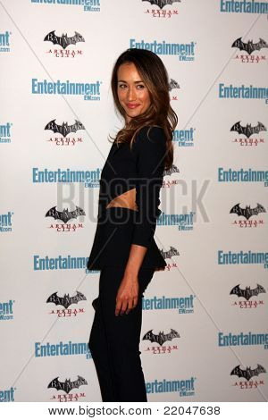 LOS ANGELES - JUL 23:  Maggie Q arriving at the EW Comic-con Party 2011 at EW Comic-con Party 2011 on July 23, 2011 in Los Angeles, CA