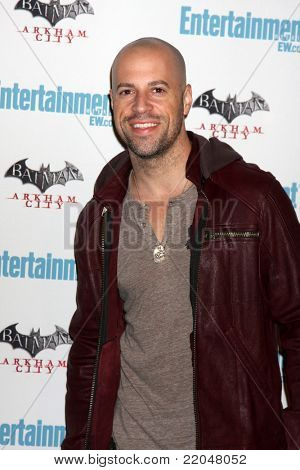 LOS ANGELES - JUL 23:  Chris Daughtry arriving at the EW Comic-con Party 2011 at EW Comic-con Party 2011 on July 23, 2011 in Los Angeles, CA