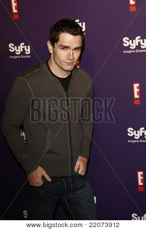 SAN DIEGO - JUL 23: Sam Witwer at the SyFy/E! Comic-Con Party at Hotel Solamar in San Diego, California on July 23, 2011.