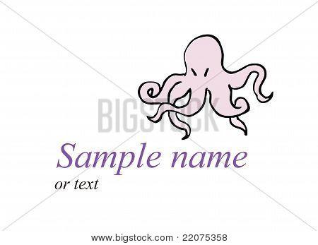Rosy octopus
