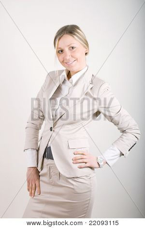 Business Suit Standing