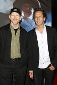 LOS ANGELES - JUL 23: Ron Howard; Brian Grazer at the 'Cowboys & Aliens' world premiere at the Civic