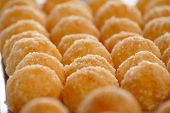 pic of doughy  - Thai Dim Sum Pastry sold on the Laemdin market in Chaweng Koh Samui Thailand - JPG
