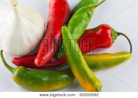 Fiery Chillies And Aromatic Garlic