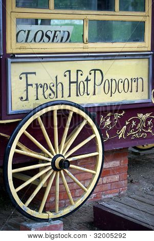 Fresh Popcorn Stand