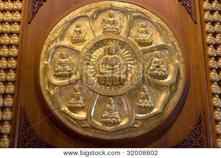 Golden Buddha, Chinese Style