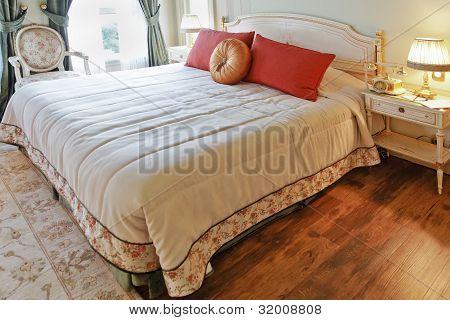Window View Luxurious Interior Design Bedroom