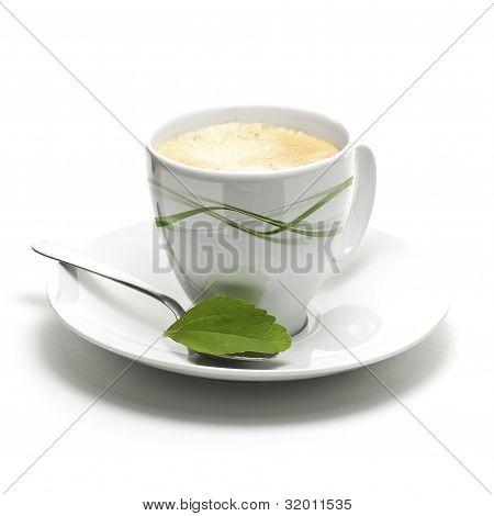 coffee and stevia sweetener