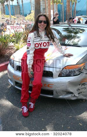 LOS ANGELES - APR 14:  Kate del Castillo at the 2012 Toyota Pro/Celeb Race at Long Beach Grand Prix on April 14, 2012 in Long Beach, CA.
