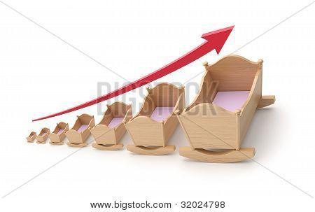Concepto de tasa de natalidad