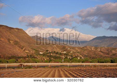 Snowy San Jacinto Peak