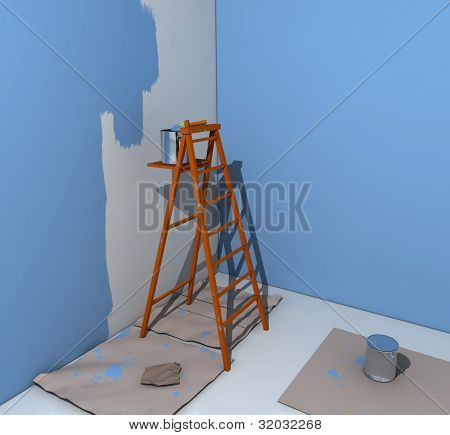 painter's ladder