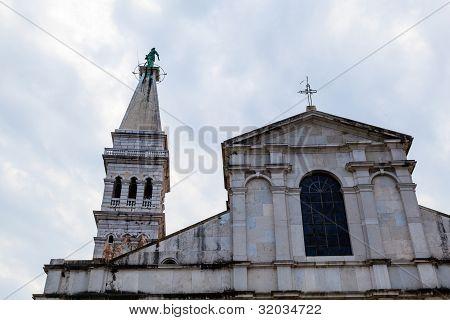 Saint Euphemia Cathedral In Rovinj, Croatia