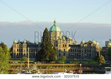 The British Columbia Parliament Buildings