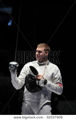 KIEV, UKRAINE - APRIL 14, 2012: Member of USA team Weston