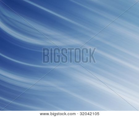 Blue And White Linear Background