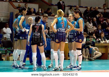 S. Ovchinnikov, Coach With Team Dynamo(msc)