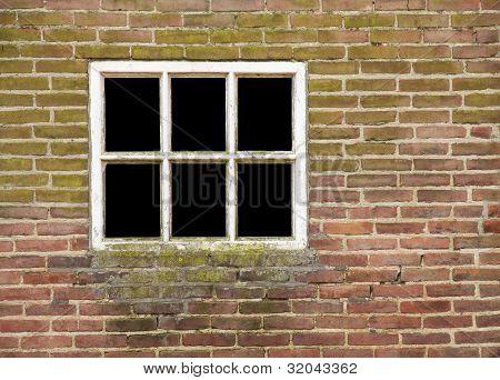 Window in old wall