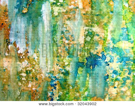 Colorful Watercolor Abstract 1