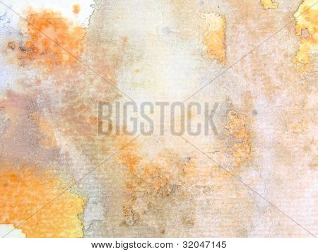 Gold and Grey Watercolor Background 7
