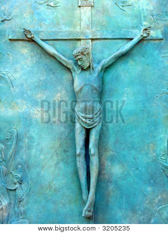 Copper Crucifix