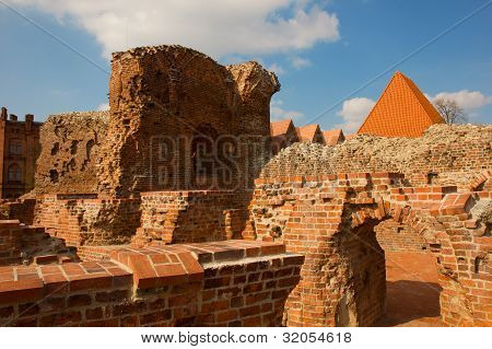 Teutonic Knights castle, Torun, Poland