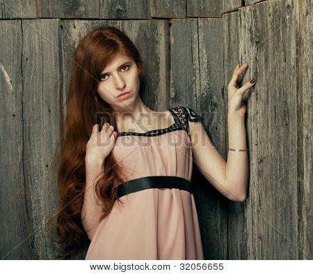 Beautiful Redheaded Girl