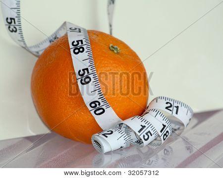 Orange Surrounded Yardstick
