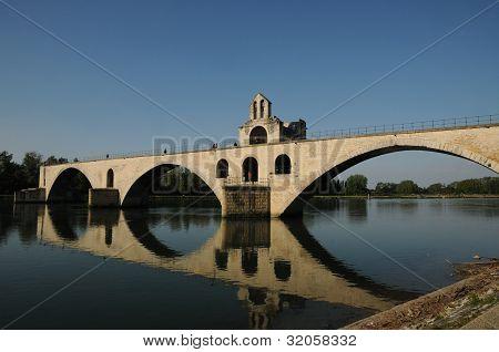 France, Le Pont  D Avignon In Provence