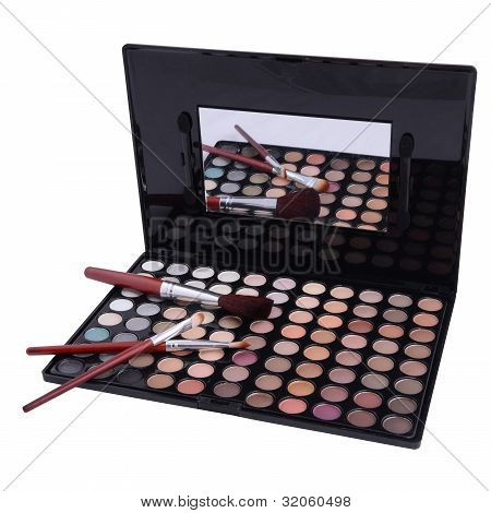 Eyeshadows With Brush