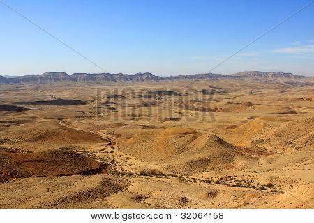 The Big Makhtesh, Israel