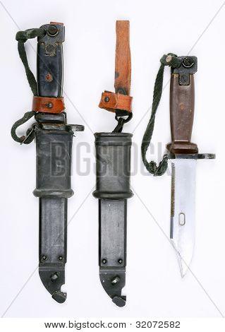 AK-47 bayonets.