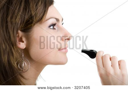 Girl With Whistle