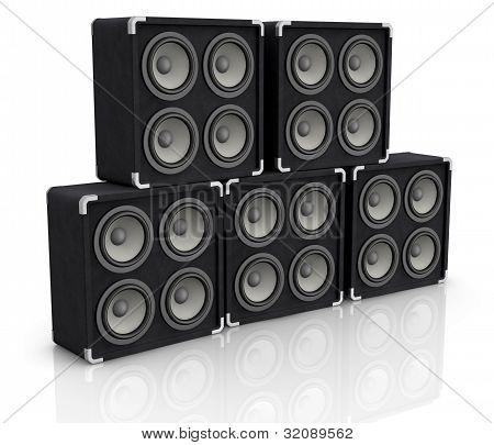 Altavoz de Audio de concierto