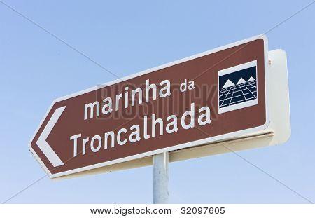 marina in Troncalhada, Beira, Portugal