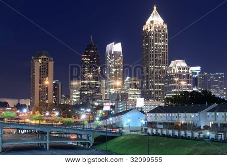 Skyline de Midtown Atlanta, Geórgia
