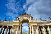 The New Palace In Sanssouci Park Located In Potsdam, Germany. poster
