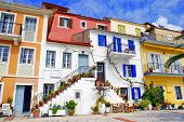 Traditional Greek fishing village of Parga