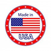 Made in USA Illustration