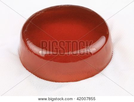 Violin Rosin On Fabric