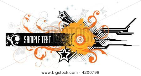 Abstract Grunge Vector Illustration