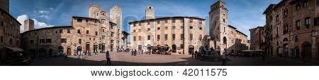 San Gimignano-panorama