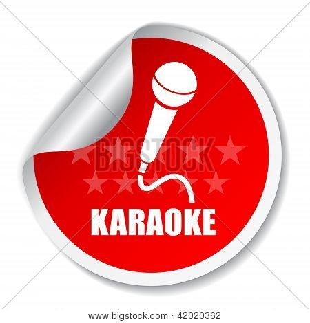 Karaoke vector label