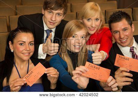 Publikum präsentieren Tickets