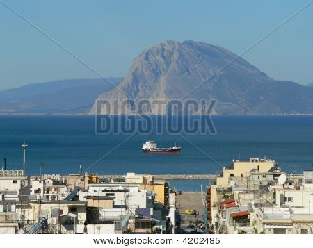 Patras And Sea