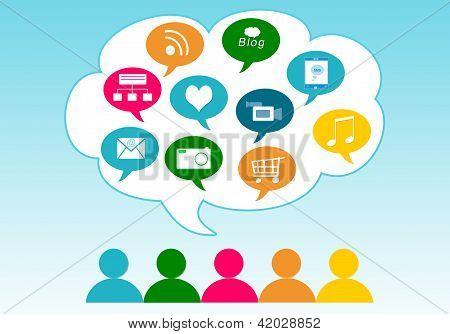 Social Media in the cloud