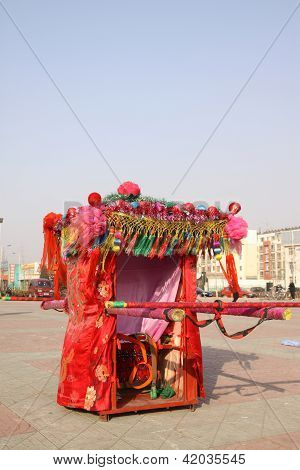 China Big Sedan Chair